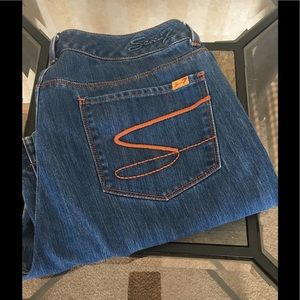Seven7 Luxe plus size jeans.